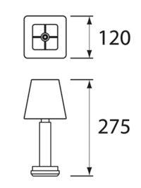 NEOZ kabellose Leuchten Modell Masse Albert