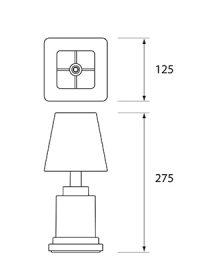 NEOZ kabellose Leuchten Modell Masse Ritz