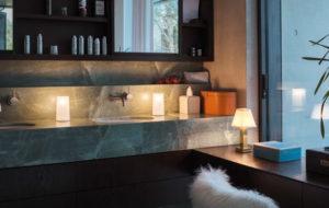 NEOZ kabellose Leuchte Albert - Location Badezimmer