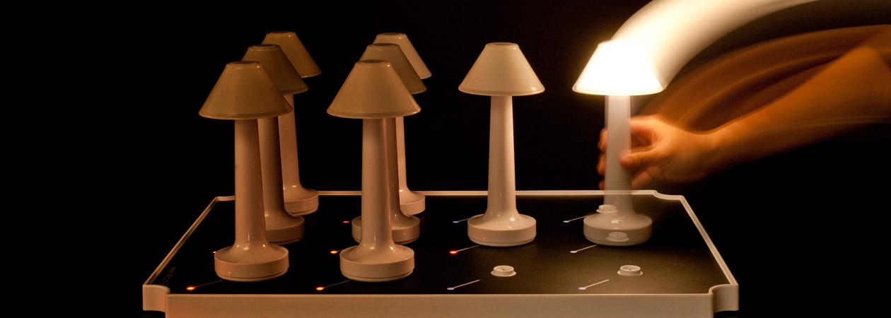 NEOZ kabellose Leuchte Aufladesysteme