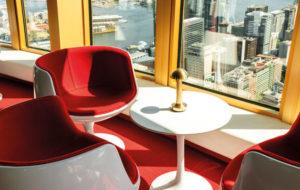 NEOZ kabellose Leuchte Cooee 1c - Location Bar 83 Sydney Tower