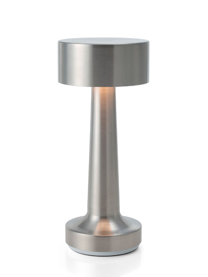 NEOZ kabellose Leuchte Cooee 2c - Farbe Aluminium