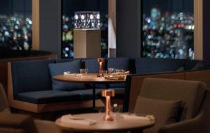 NEOZ kabellose Leuchte Cooee 2c - Location Moon Restaurant Tokyo