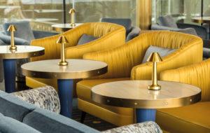 NEOZ kabellose Leuchte Cooee 3c - Location Bullion Restaurant Dallas