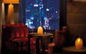 NEOZ kabellose Leuchte EGG fritted - Location Ritz Carlton Shanghai Pudong
