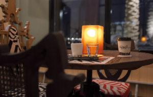 NEOZ kabellose Leuchte Gem 1 - Location Atelier Cafe Qatar