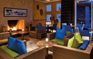 NEOZ kabellose Leuchte Ice Round 85 - Location Hotel Paracas Peru
