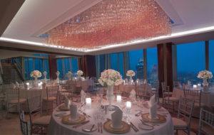 NEOZ kabellose Leuchte Ice Round 85 - Location Shangi La Hotel Shard London
