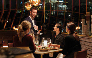 NEOZ kabellose Leuchte Ice Square 85 - Location Bannelong Restaurant Sydney