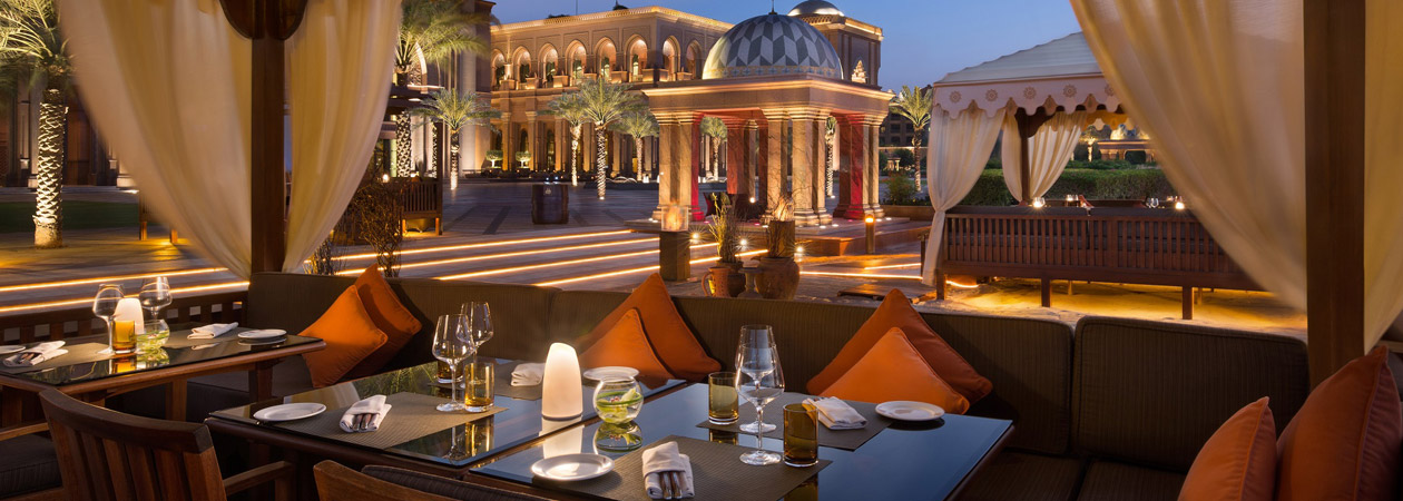 NEOZ kabellose Leuchte little Margarita - Location Al Qasr Emirates Palace Abu Dhabi