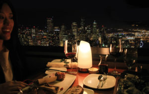 NEOZ kabellose Leuchte Margarita - Location Skycity Restaurant Space Needle Seattle