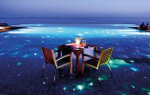 NEOZ kabellose Leuchte Medusa - Location Huvafen Fushi Malediven