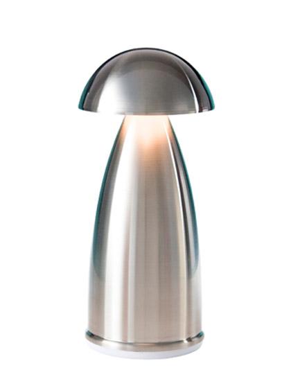 NEOZ kabellose Leuchte OWL 1 - Farbe Stainless Steel