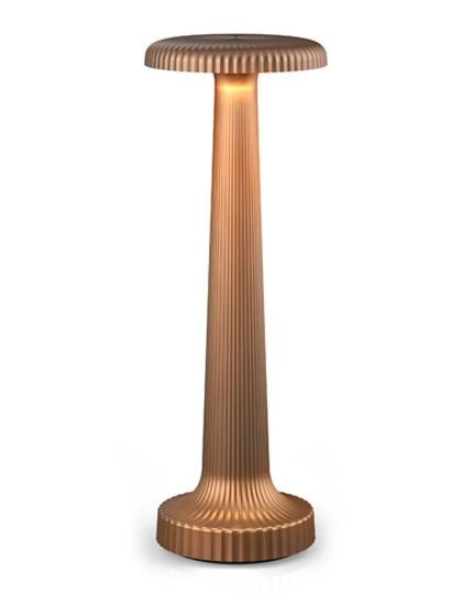 NEOZ kabellose Leuchte Poppy - Farbe Satin Bronze