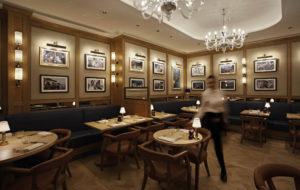 NEOZ kabellose Leuchte Victoria - Location Chucs Restaurant Harrods London