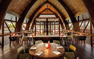 NEOZ kabellose Leuchte Wood - Location Goji Restaurant Figi Marriott Resort