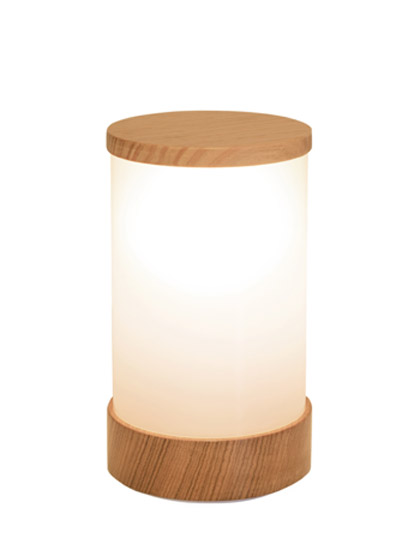NEOZ kabellose Leuchte Wood - Farbe Victorian Ash